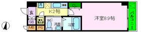 神戸市灘区日尾町の賃貸物件間取画像