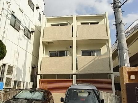 神戸市灘区岩屋中町の賃貸物件外観写真