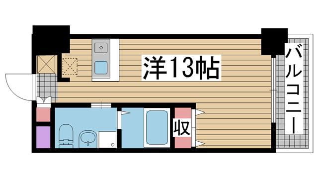 神戸市灘区灘北通の賃貸物件間取画像