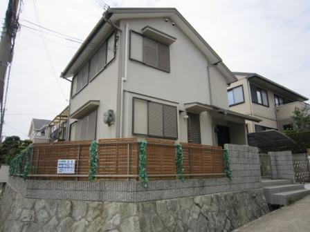 神戸市垂水区旭が丘の賃貸物件外観写真