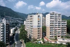 神戸市灘区六甲台町の賃貸物件外観写真