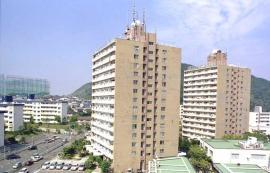 神戸市須磨区高尾台の賃貸物件外観写真