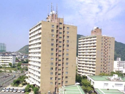 神戸市須磨区高倉台の賃貸物件外観写真
