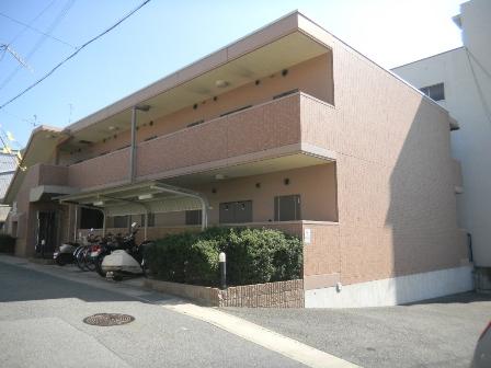 神戸市灘区高羽の賃貸物件外観写真