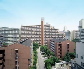 神戸市中央区港島中町の賃貸物件外観写真