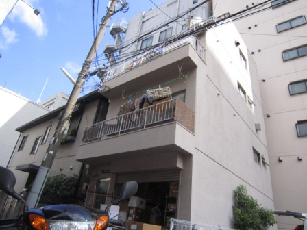 神戸市中央区中山手通の賃貸物件外観写真