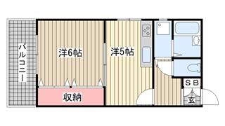 神戸市中央区神若通の賃貸物件間取画像