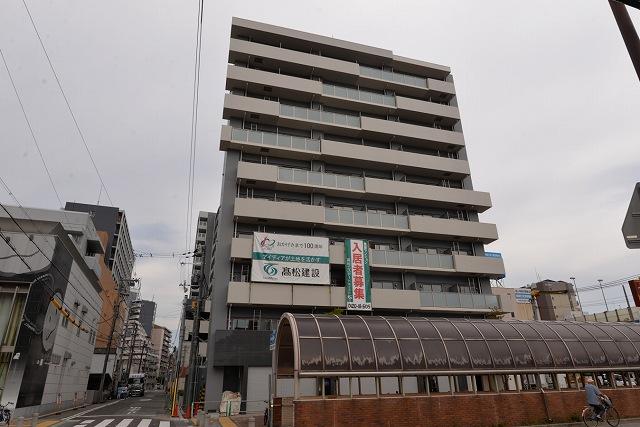 神戸市兵庫区浜崎通の賃貸物件外観写真